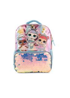 """NEW L.O.L. Surprise! Pastel Sparkle 16"""" Kids' Backpack"""