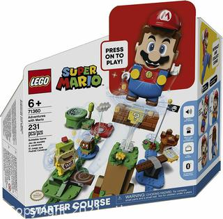 ($44.99) LEGO Super Mario Adventures with Mario Starter Course 71360 (Pre-owned unsure if complete)