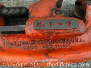 Ridgid Heavy Pipe  Cutter