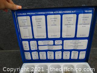 Schlage Titan  Kwikset Key Conversion kit