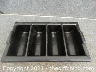 Plastic Black Organizer
