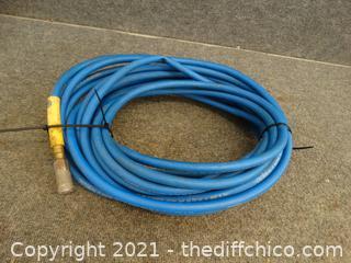 Blue 60ft Air Hose