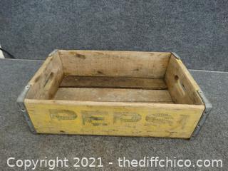 Wood Pepsi Crate
