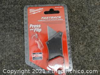 New Milwaukee Fastback Utility Knife