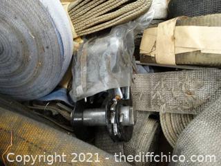 Ratcheting Straps & Staps