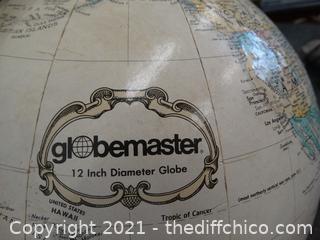 "Globe Master Globe 12"""