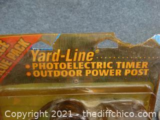 New Yard line Photoelectric Timer NIB