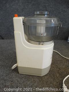 Working Presto Minnie Max Impact food processor