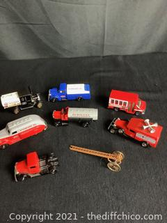 VINTAGE CHEVRON EXCLUSIVE STANDARD OIL COLLECTOR CARS & TRUCKS! MADE IN ENGLAND.