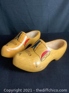 WOODEN SHOES FROM HOLLAND!