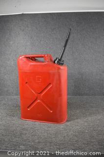 USMC metal Gas Can