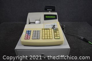 Working Sharp XE-A402 Register
