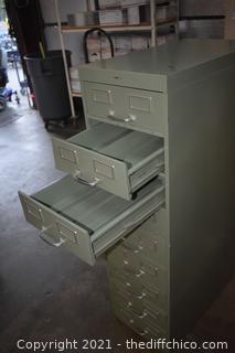 9 Drawer File Cabinet