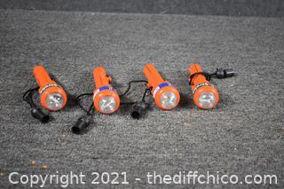 4 C-Strobe Emergency Light Flashers