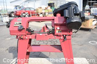 Working Central Machinery Band Saw