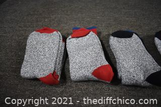 6 Pair of Socks-look and feel new