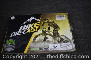 NIB Mountain Metal Bike