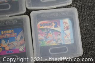Vintage Sega Game Gear Lot