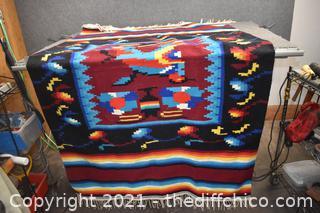 Wool Blanket - 50in x 82in