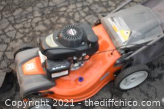 Husqvarna Working Self Propelled Lawn Mower