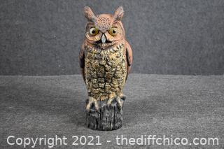 Plastic Yard Owl