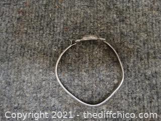 925  0.561 Oz Silver Bracelet