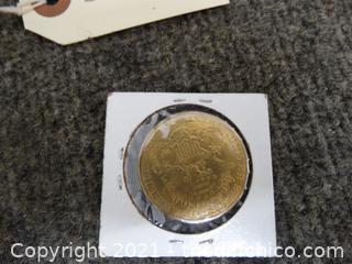 80% Silver 1877 Coin  Replica