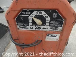 225 Amp Welder  LRC Lincoln