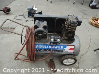 Campbell Hausfeld Air Compressor  model # VT619600AJ  its a 110