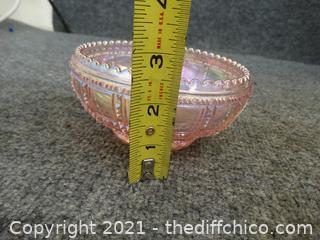 Light Pink Candy Dish