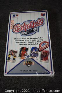 NIB 1991 Upper Deck Baseball Trading Cards
