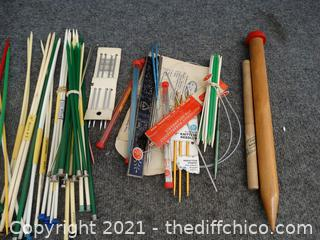 Knitting Needles & More