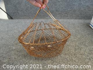 Fish Catching Basket ?