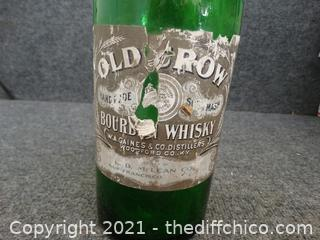 Old Row Glass Bottle