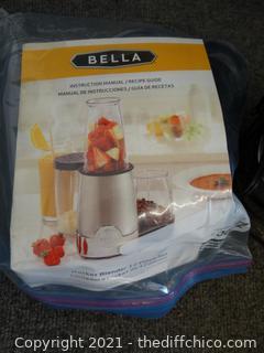 Bella Rocket Blender wks