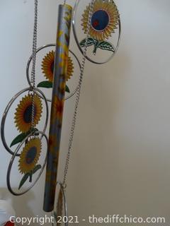 Sun Flower Wind Chimes