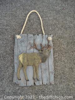 Hanging Moose Decor