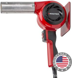 ($164.95) Master Appliance HG-502D Industrial Heat Gun, Quick Change Plug-In Heating Element, 1200° F, 220V, 1980W, 9 Amps, Assembled In USA