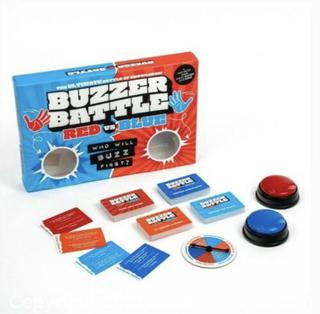 Buzzer Battle Game, the ultimate game of knowledge trivia team board games New