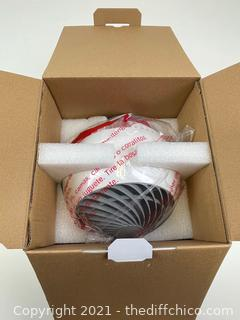 Woozoo Globe Multi-Directional 5-Speed Oscillating Fan w/ Remote, White