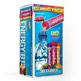 30-PACK Zipfizz Healthy Sport Energy Drink Mix 30 Count Dietary Supplement 4-6 hours B42
