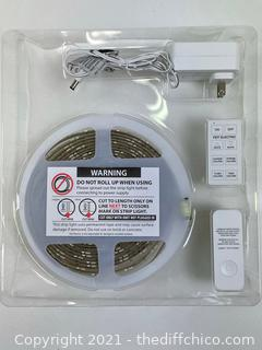 Feit Electric, Wi-Fi Smart 16' Indoor Outdoor Flexible LED Strip Light w Remote