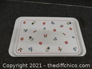 Vintage Boch Tray
