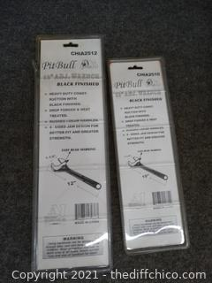 """New 12"""" & 10"""" Adjustable Wrenches"""