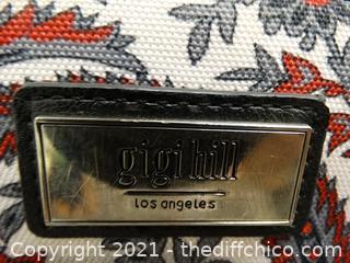 "Gigi Hill Swivel Wheel Rolling Suitcase 24 1/2"" x 18"" x12 1/2"""