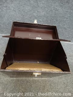 "Metal File Box 6 3/4"" x 12 1/2"" x 12"""