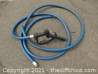 Gas Hose With Nozzle