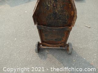 Solid Metal Dolly