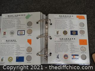 State Series Quarter Book  Missing Some