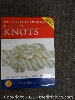 Boy Scouts Deck Of Knots